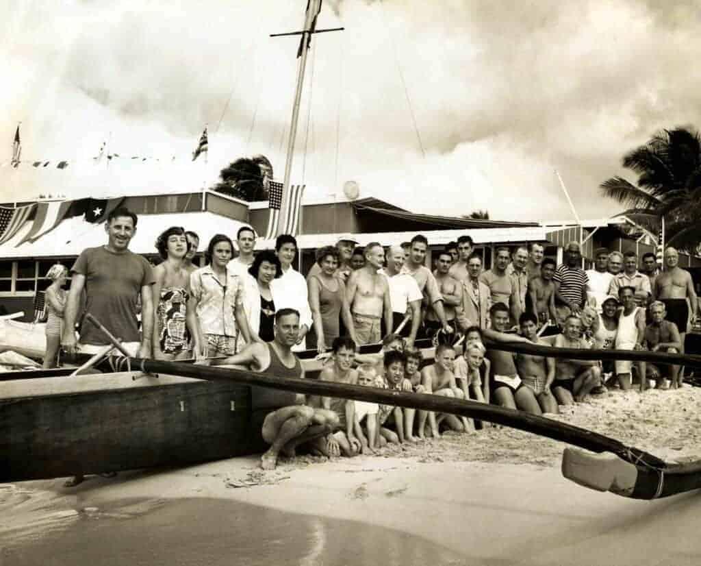 Historic Image of Celebrations from Molokaʻi-Oʻahu through the Years