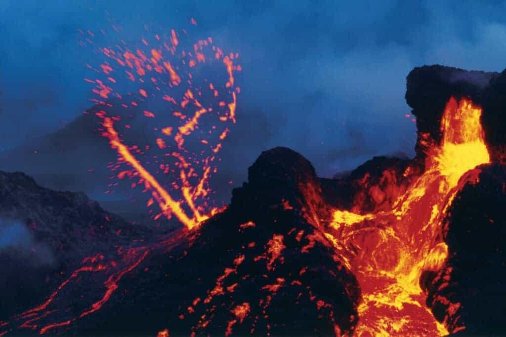 Lava image from Adventurer's Hawaii